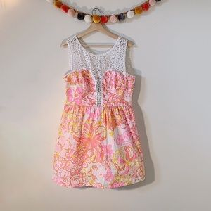 Lilly Pulitzer Raegan Fit & Flate Dress size 14